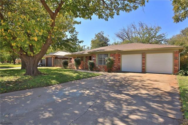 2318 Greenbriar Drive, Abilene, TX 79605 (MLS #13965145) :: The Real Estate Station