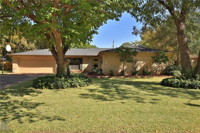 2149 Regent Drive, Abilene, TX 79605 (MLS #13965628) :: The Real Estate Station