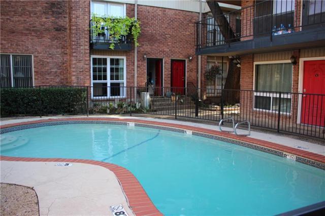 4340 Cedar Springs Road #109, Dallas, TX 75219 (MLS #13965833) :: The Rhodes Team