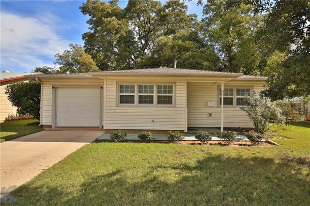 1165 Yorktown Drive, Abilene, TX 79603 (MLS #13965996) :: RE/MAX Town & Country
