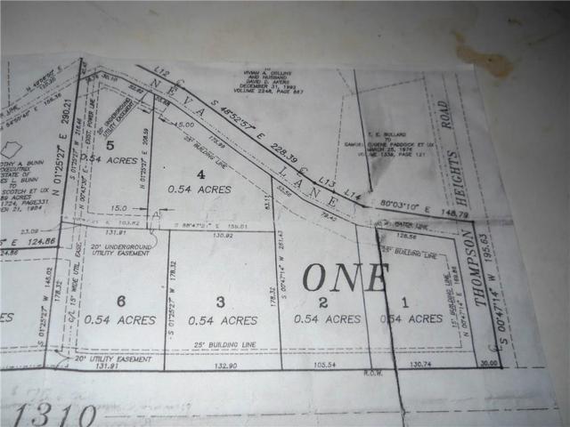 124 Neva Lane, Denison, TX 75020 (MLS #13966059) :: The Heyl Group at Keller Williams