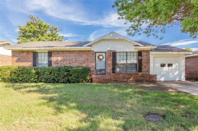 3733 Purdue Lane, Abilene, TX 79602 (MLS #13966155) :: Kimberly Davis & Associates