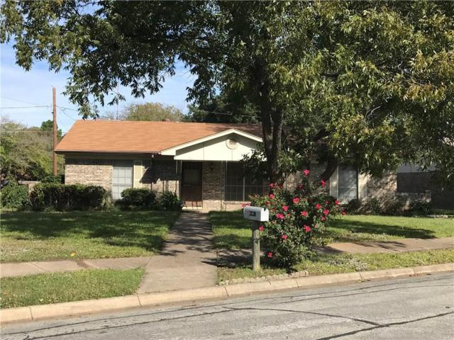 7601 Circle Drive, North Richland Hills, TX 76180 (MLS #13966640) :: RE/MAX Town & Country