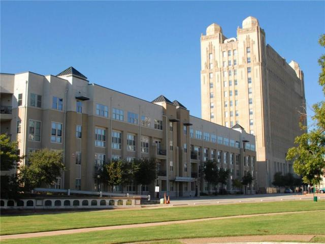 201 W Lancaster Avenue #106, Fort Worth, TX 76102 (MLS #13966781) :: The Mitchell Group