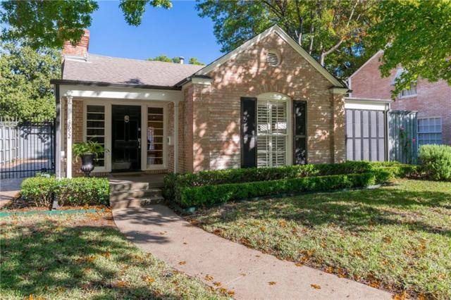4652 Southern Avenue, Highland Park, TX 75209 (MLS #13967741) :: RE/MAX Landmark