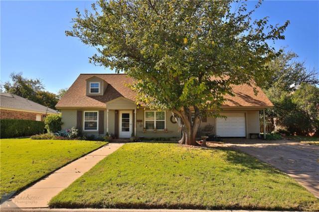 1714 Minter Lane, Abilene, TX 79603 (MLS #13968223) :: The Tonya Harbin Team