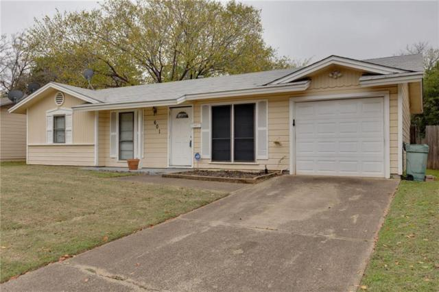 601 Milam Drive, Euless, TX 76039 (MLS #13968317) :: The Holman Group