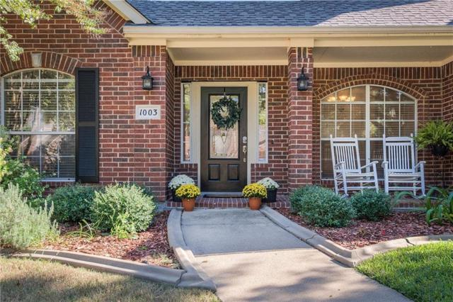 1003 Alameda Court, Allen, TX 75013 (MLS #13969164) :: RE/MAX Town & Country