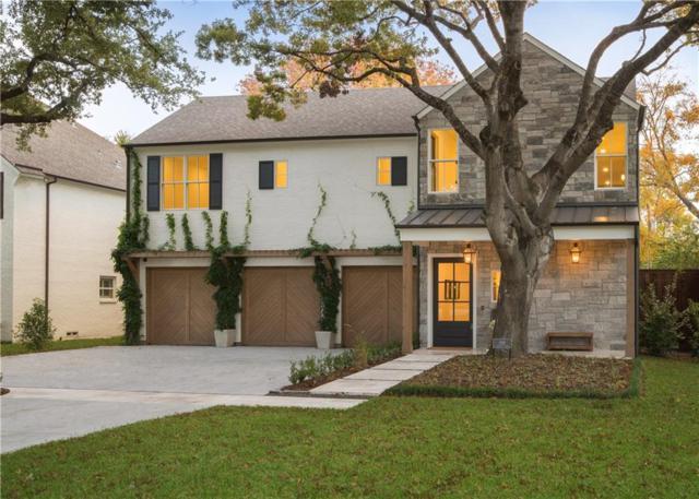 6516 Stichter Avenue, Dallas, TX 75230 (MLS #13969710) :: Robbins Real Estate Group