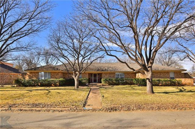 1462 Richland Drive, Abilene, TX 79603 (MLS #13969725) :: Charlie Properties Team with RE/MAX of Abilene