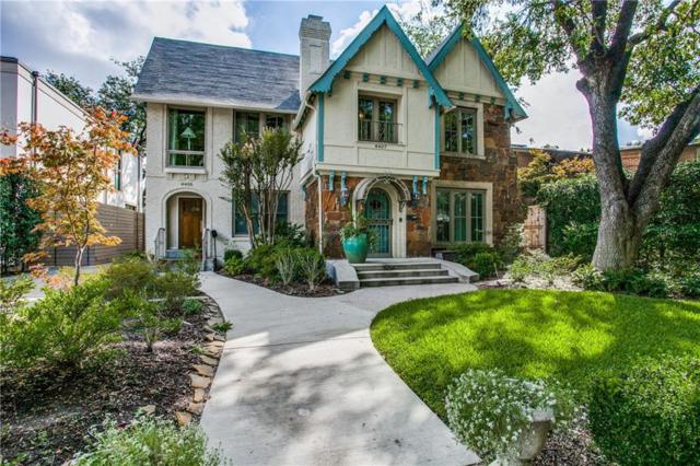 4405 Normandy, University Park, TX 75205 (MLS #13969859) :: Robbins Real Estate Group
