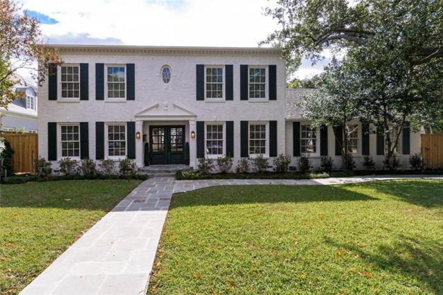 3403 Dartmouth, Highland Park, TX 75205 (MLS #13969972) :: Robbins Real Estate Group
