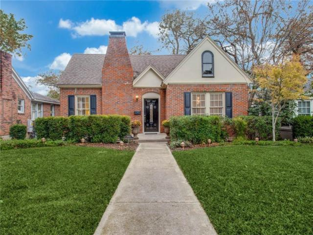 1007 N Windomere Avenue, Dallas, TX 75208 (MLS #13970000) :: RE/MAX Town & Country