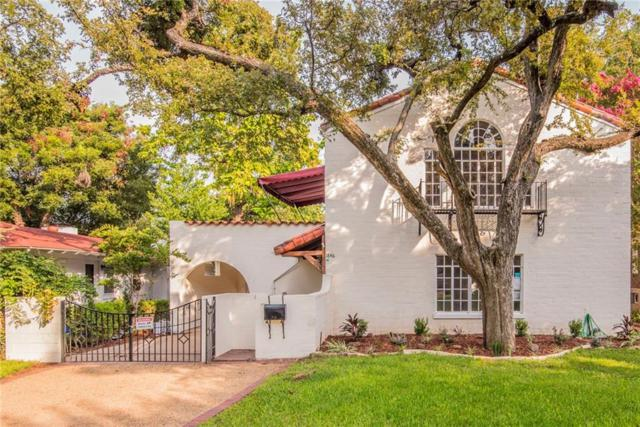 1846 Mayflower Drive, Dallas, TX 75208 (MLS #13970184) :: RE/MAX Town & Country