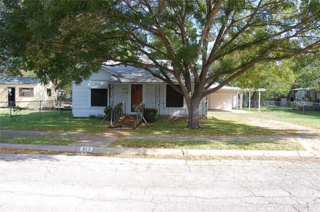 912 Baird Street, Cleburne, TX 76033 (MLS #13970527) :: RE/MAX Pinnacle Group REALTORS