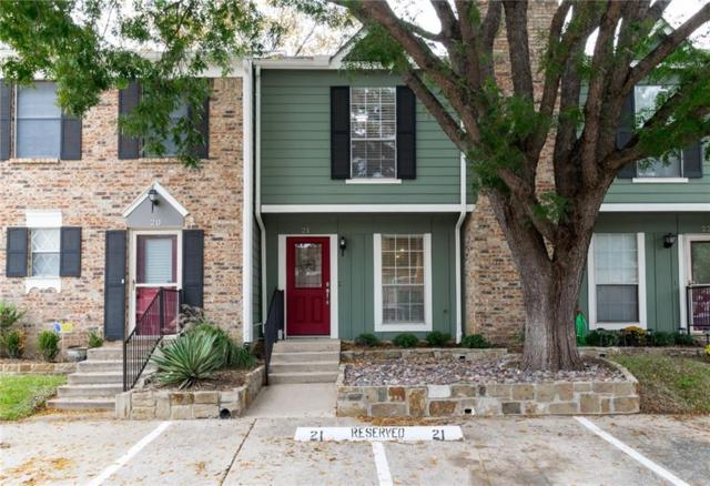21 Abbey Road, Euless, TX 76039 (MLS #13970530) :: The Holman Group