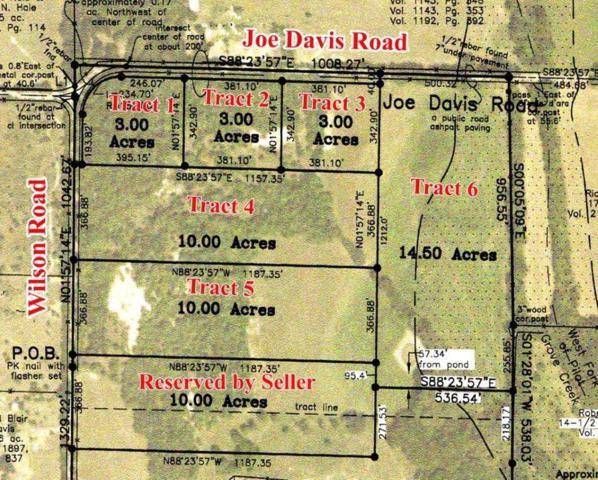 Tract1 Joe Davis Road, Whitewright, TX 75491 (MLS #13970583) :: The Sarah Padgett Team