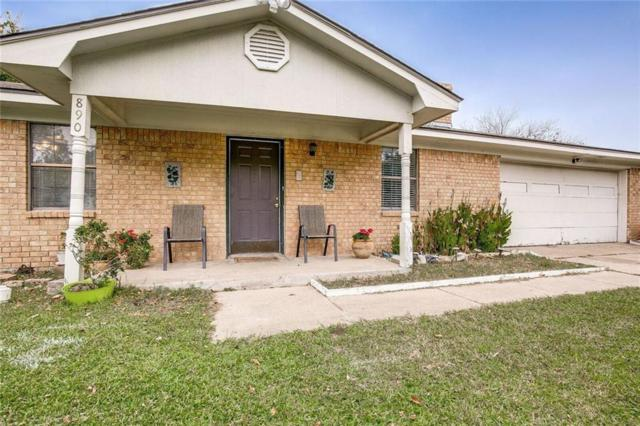 890 Betty Drive, Terrell, TX 75160 (MLS #13970881) :: RE/MAX Town & Country