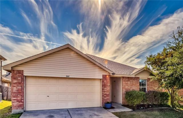 1041 Fort Apache Drive, Fort Worth, TX 76052 (MLS #13971011) :: The Paula Jones Team | RE/MAX of Abilene