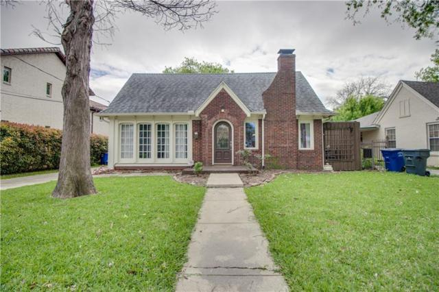 5107 Parkland Avenue, Dallas, TX 75235 (MLS #13971583) :: RE/MAX Town & Country