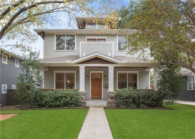 5424 Vickery Boulevard, Dallas, TX 75206 (MLS #13971703) :: RE/MAX Town & Country