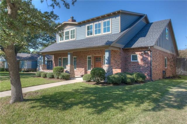 5628 Pershing Avenue, Fort Worth, TX 76107 (MLS #13972209) :: The Mitchell Group