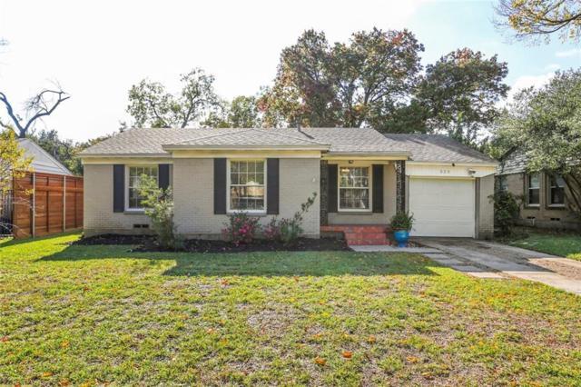 525 Kirkwood Drive, Dallas, TX 75218 (MLS #13972356) :: The Mitchell Group