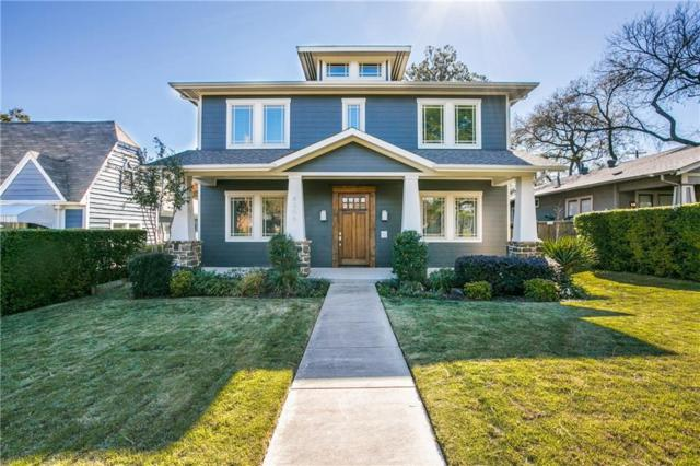 6006 Llano Avenue, Dallas, TX 75206 (MLS #13972593) :: RE/MAX Landmark