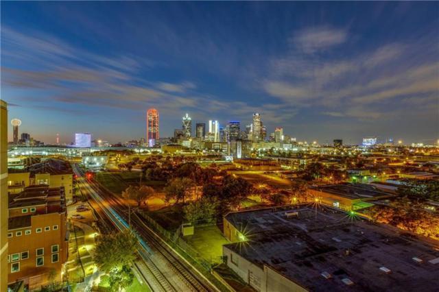 1001 Belleview Street #801, Dallas, TX 75215 (MLS #13972725) :: The Holman Group