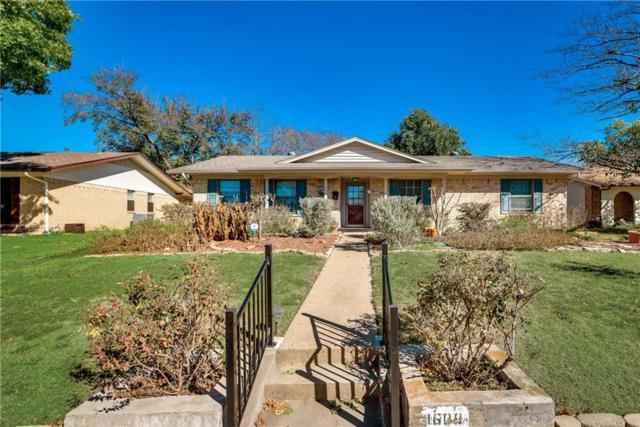1609 San Antonio Lane, Garland, TX 75042 (MLS #13973136) :: The Holman Group