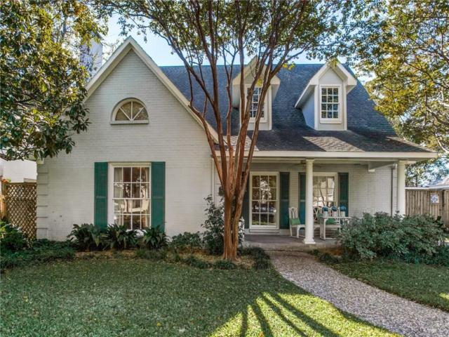 4229 Amherst Avenue, University Park, TX 75225 (MLS #13973213) :: Robbins Real Estate Group