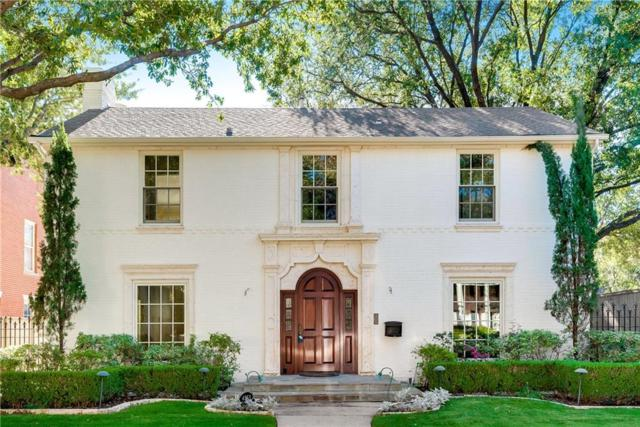 4553 Bordeaux Avenue, Highland Park, TX 75205 (MLS #13973649) :: Robbins Real Estate Group