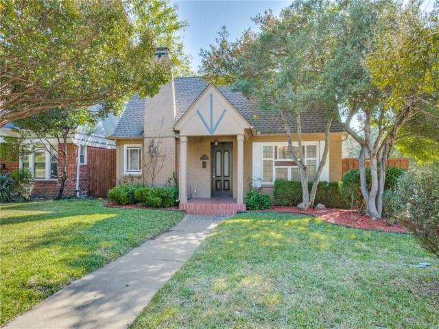 5702 Mercedes Avenue, Dallas, TX 75206 (MLS #13973860) :: Kimberly Davis & Associates
