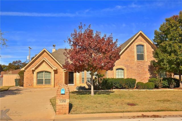 3350 Silver Oaks Drive, Abilene, TX 79606 (MLS #13973983) :: The Holman Group