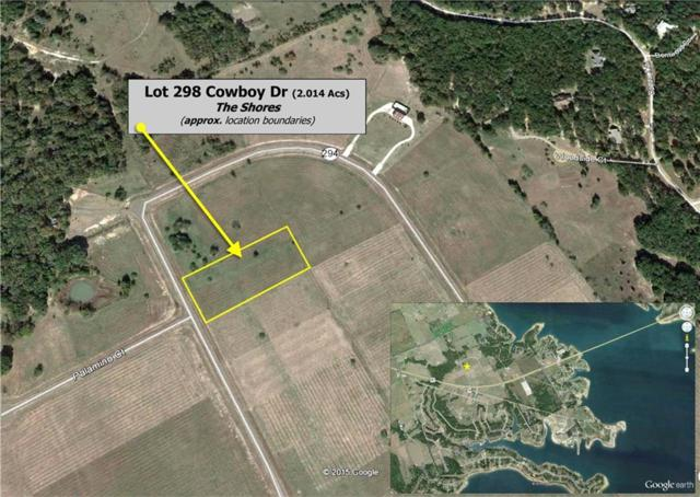 L 298 Cowboy Drive Bs A32, Corsicana, TX 75109 (MLS #13974007) :: Real Estate By Design