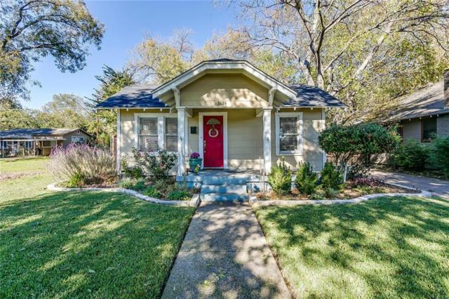 3824 Calmont Avenue, Fort Worth, TX 76107 (MLS #13974314) :: The Mitchell Group