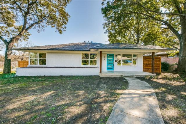 604 Woolsey Drive, Dallas, TX 75224 (MLS #13974564) :: RE/MAX Landmark