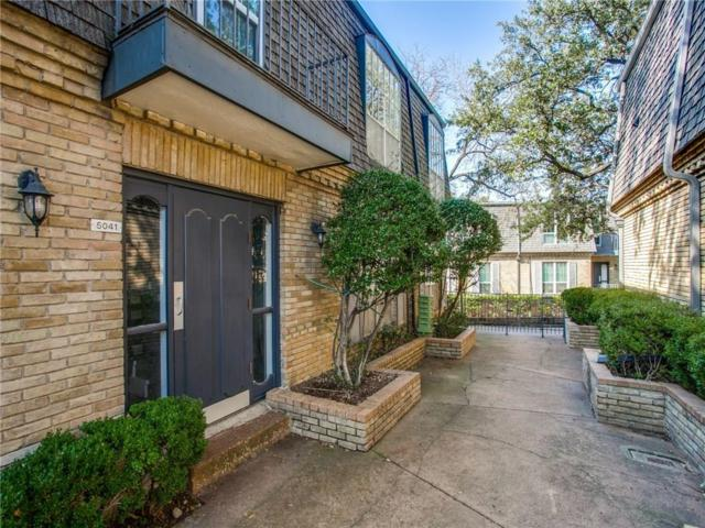 5041 Cedar Springs Road #212, Dallas, TX 75235 (MLS #13975748) :: The Heyl Group at Keller Williams