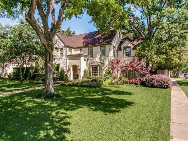 4300 Arcady Avenue, Highland Park, TX 75205 (MLS #13976217) :: Frankie Arthur Real Estate