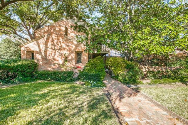 4350 Rheims Place, Highland Park, TX 75205 (MLS #13976314) :: Magnolia Realty