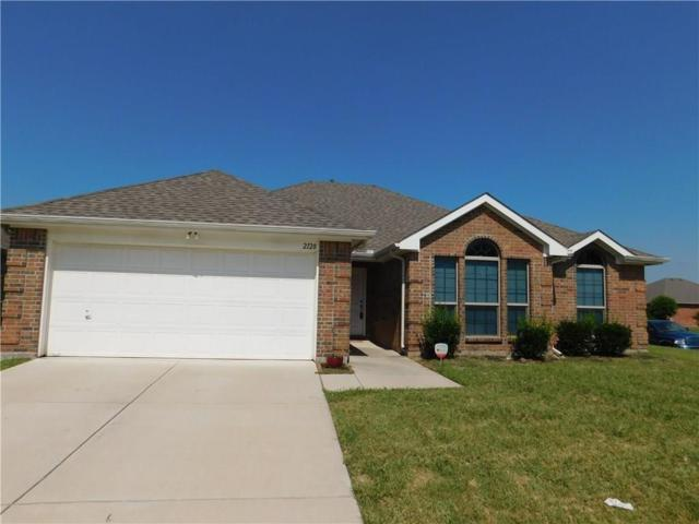 2128 Oakridge Drive, Little Elm, TX 75068 (MLS #13976426) :: The Tierny Jordan Network