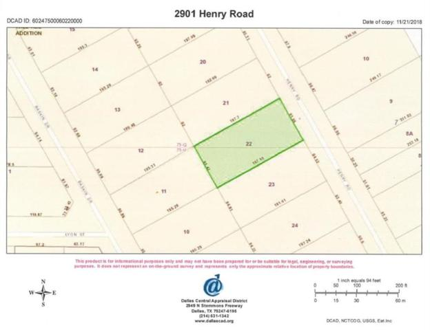 2901 Henry Road, Lancaster, TX 75134 (MLS #13976825) :: Real Estate By Design
