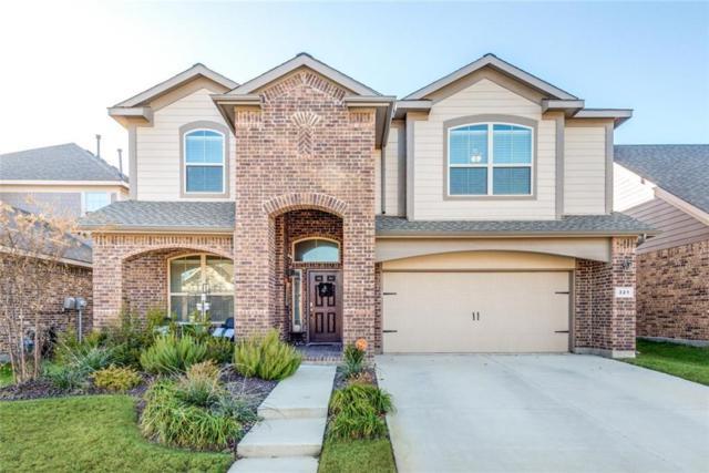 321 Gannet Trail, Argyle, TX 76226 (MLS #13977708) :: The Real Estate Station