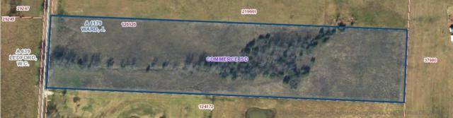 TBD County Rd 4509, Commerce, TX 75428 (MLS #13978096) :: The Mitchell Group
