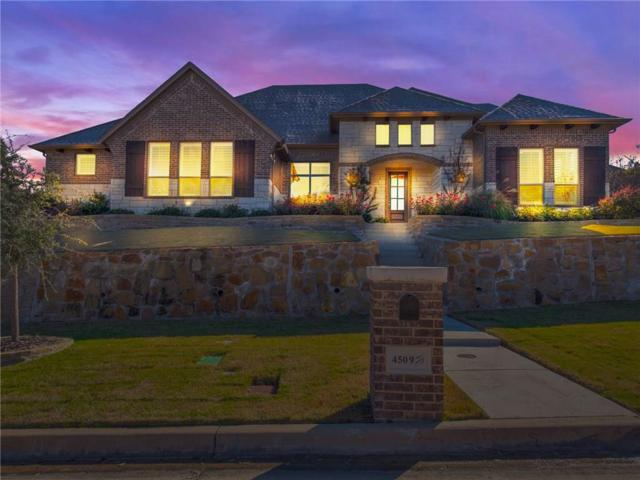 4509 Fair Creek Terrace, Fort Worth, TX 76008 (MLS #13978939) :: The Heyl Group at Keller Williams