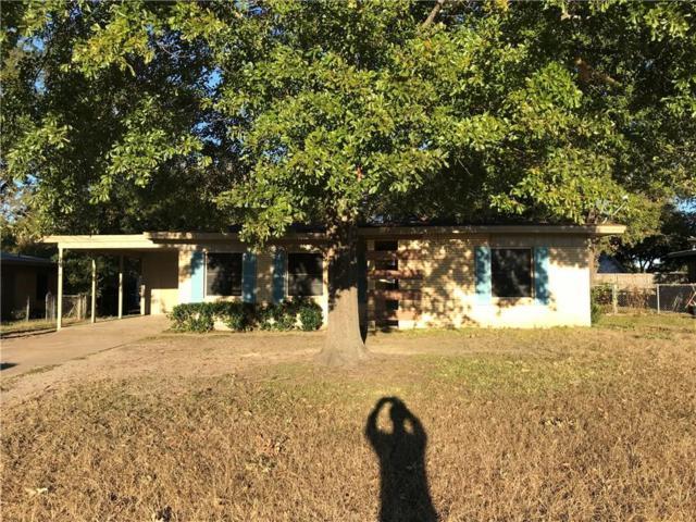 1817 Bowie Drive, Corsicana, TX 75110 (MLS #13979826) :: The Sarah Padgett Team
