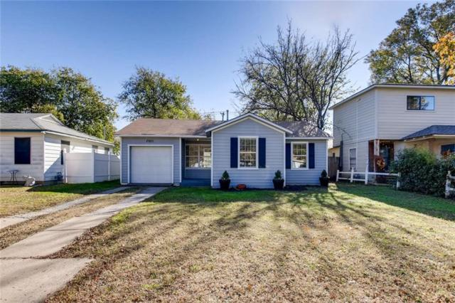 2921 S Hills Avenue, Fort Worth, TX 76109 (MLS #13979905) :: The Real Estate Station