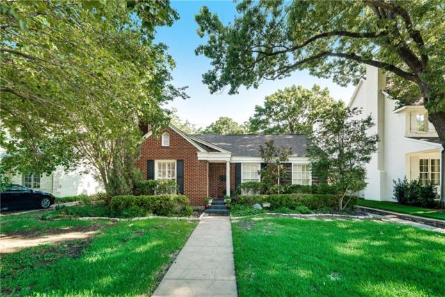 4308 Amherst Avenue, University Park, TX 75225 (MLS #13980093) :: The Heyl Group at Keller Williams