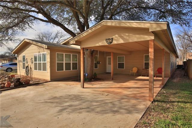 1306 Buccaneer Drive, Abilene, TX 79605 (MLS #13980137) :: Kimberly Davis & Associates