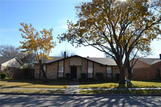 724 Warwick Drive, Plano, TX 75023 (MLS #13980169) :: Kimberly Davis & Associates